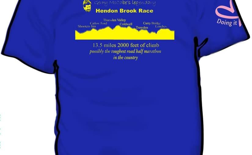 Gerry McCabe's Legendary Hendon Brook Race T-shirt 2019Orders