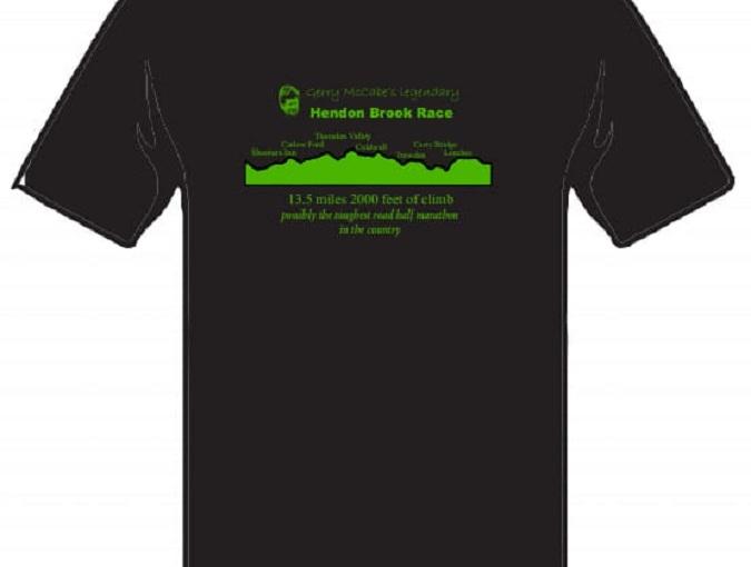 Gerry McCabe's Legendary Hendon Brook Race T-shirt 2021Orders
